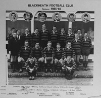 007082 1965-66 Blackheath Football Club