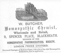 007433 1869 Butcher chemists