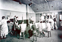 Life Drawing Class in The Blackheath Art School in the 1930s
