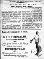 Ladies! Learn to Fence - only 2 guineas